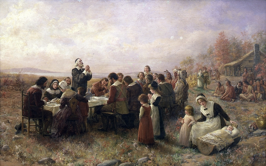 the myth of thanksgiving day Please, don't ignore or minimize thanksgiving, but try embracing the myth as a time for reconciliation and peace then later, together, we can all join in the protest of columbus day but that's.